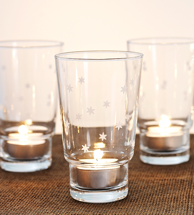Stack Candle Holder Starry Night