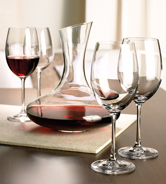 Winebar Set Of Glasses With Decanter